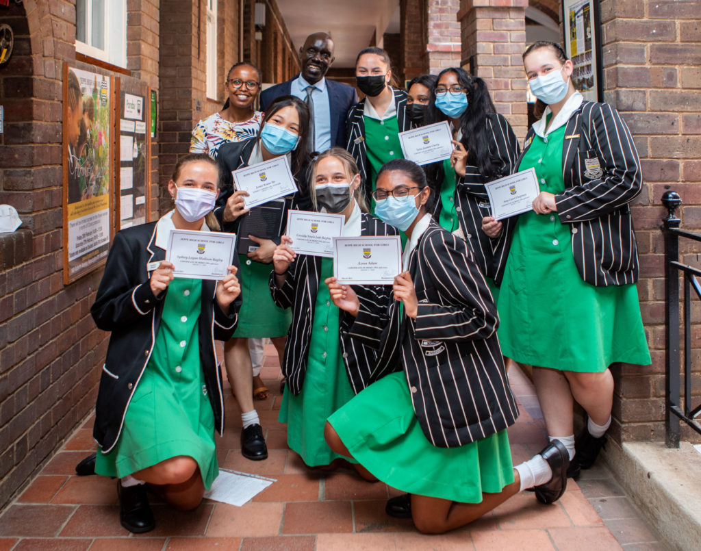 Jeppe High School for Girls Dr EM Taban
