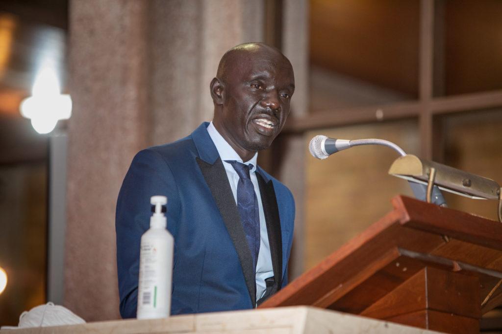Dr Emmanuel Taban commemorating World Refugee Day